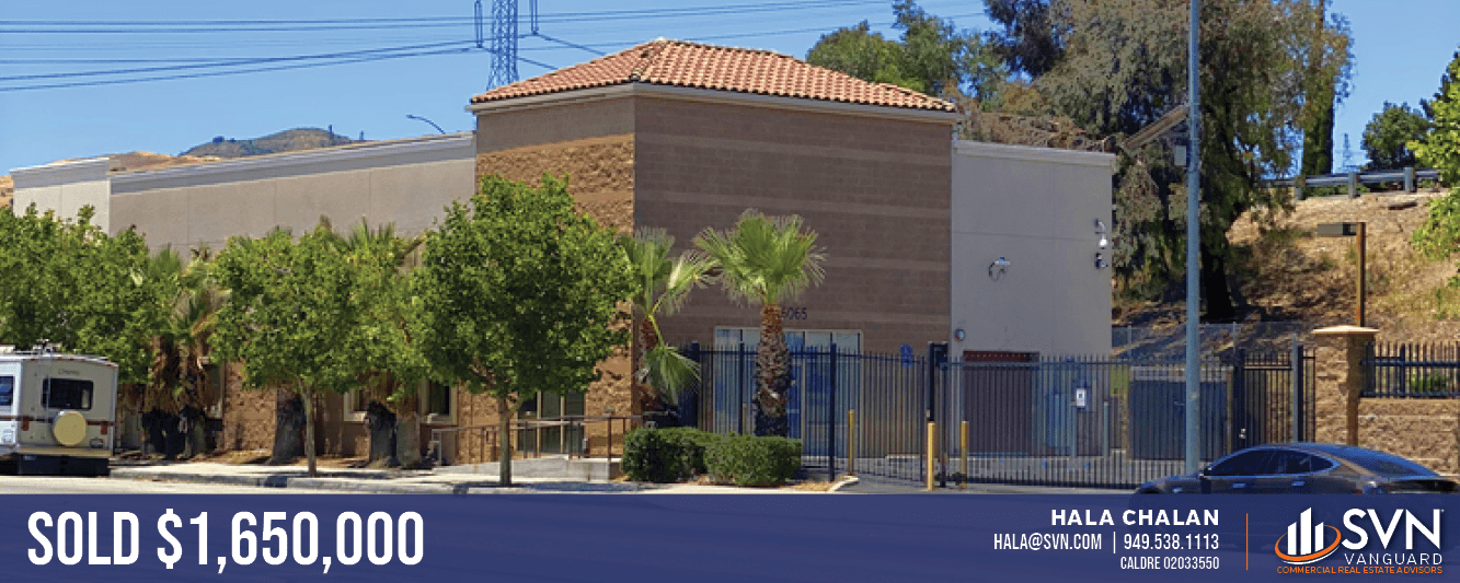 HALA CHALAN OF SVN | VANGUARD SELLS LA INDUSTRIAL ASSET